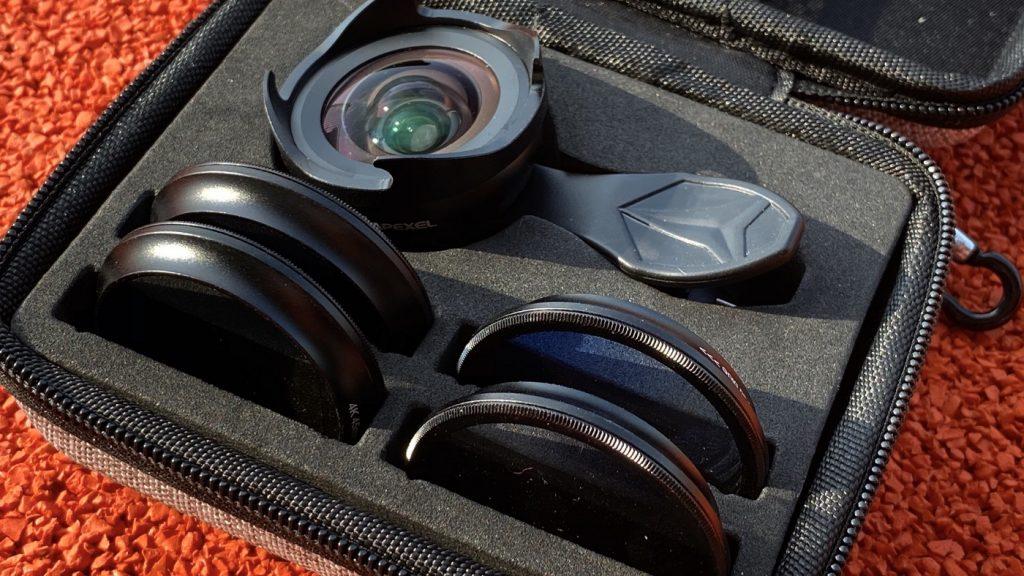 Apexel 鏡頭組,比玩具好太多的手機鏡頭外掛 - 3