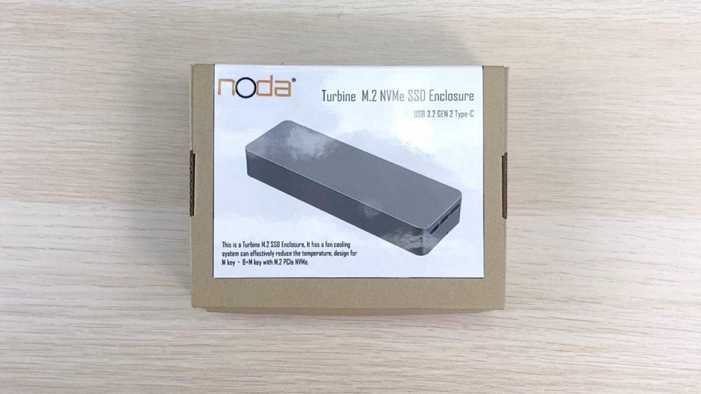開箱 NODA Turbine 內建風扇的 SSD 外接盒 - 1
