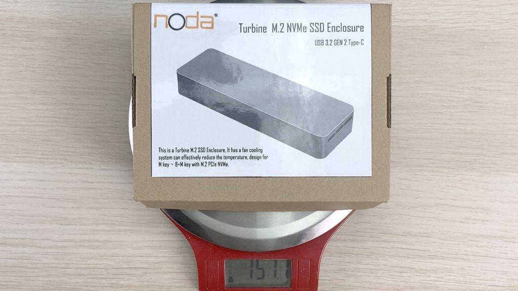 開箱 NODA Turbine 內建風扇的 SSD 外接盒 - 3