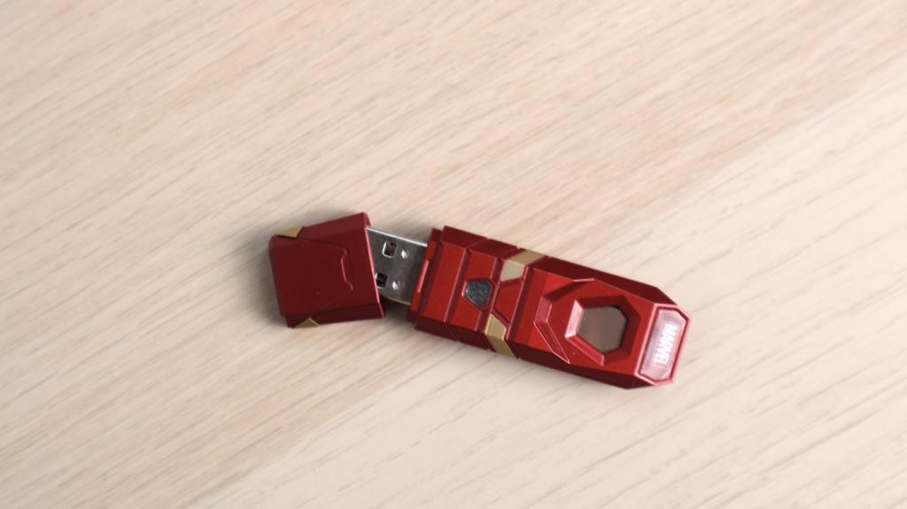被儲存功能耽誤的質感隨身碟。漫威隨身碟&漫威指紋辨識碟 - 14
