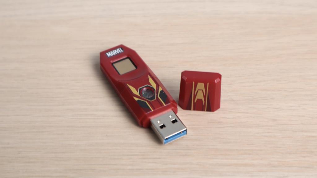 被儲存功能耽誤的質感隨身碟。漫威隨身碟&漫威指紋辨識碟 - 18