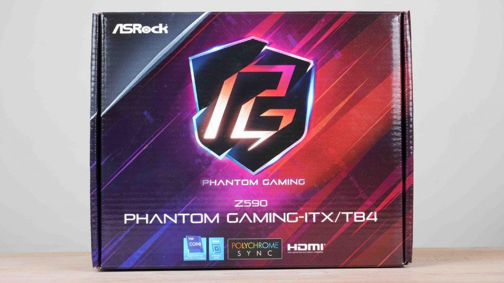 就為電競而生!「殺手」級的主機板 ASRock Z590 Phantom Gaming ITX/TB4