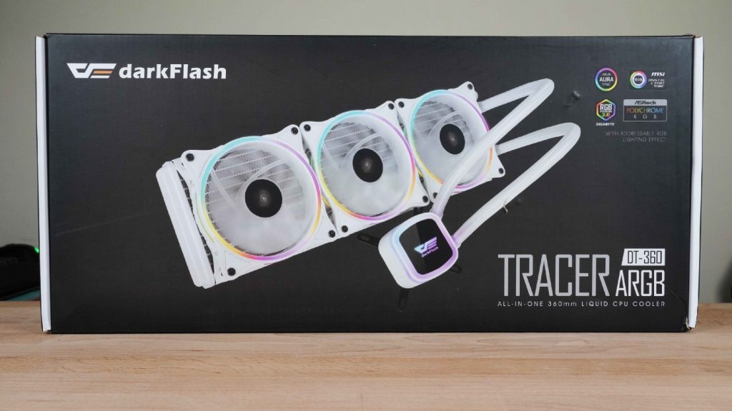 環形燈光,與眾不同。darkFlash DT-360 ARGB