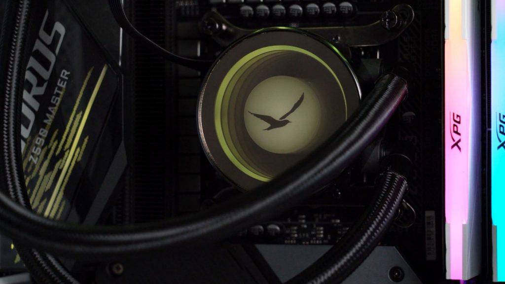 戰鳥出現,視覺驚艷!DIGIFAST Notos-Series N36 桌機水冷