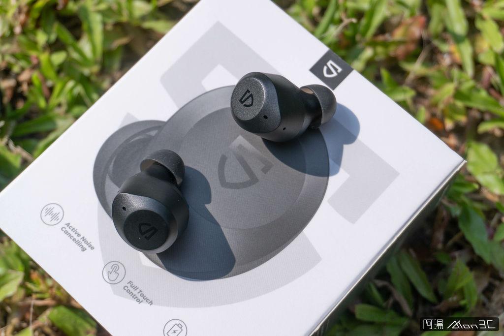 「開箱」SoundPeats T2 - 2千不到、有通透模式、音質又好!ANC 主動降噪藍牙耳機 - 9