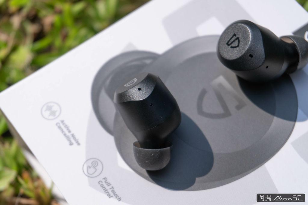 「開箱」SoundPeats T2 - 2千不到、有通透模式、音質又好!ANC 主動降噪藍牙耳機 - 16