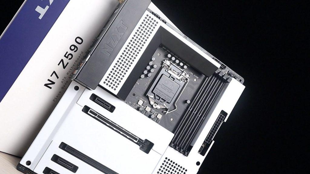 最美 Z590 主機板,沒有之一。NZXT N7 Z590 絕美開箱