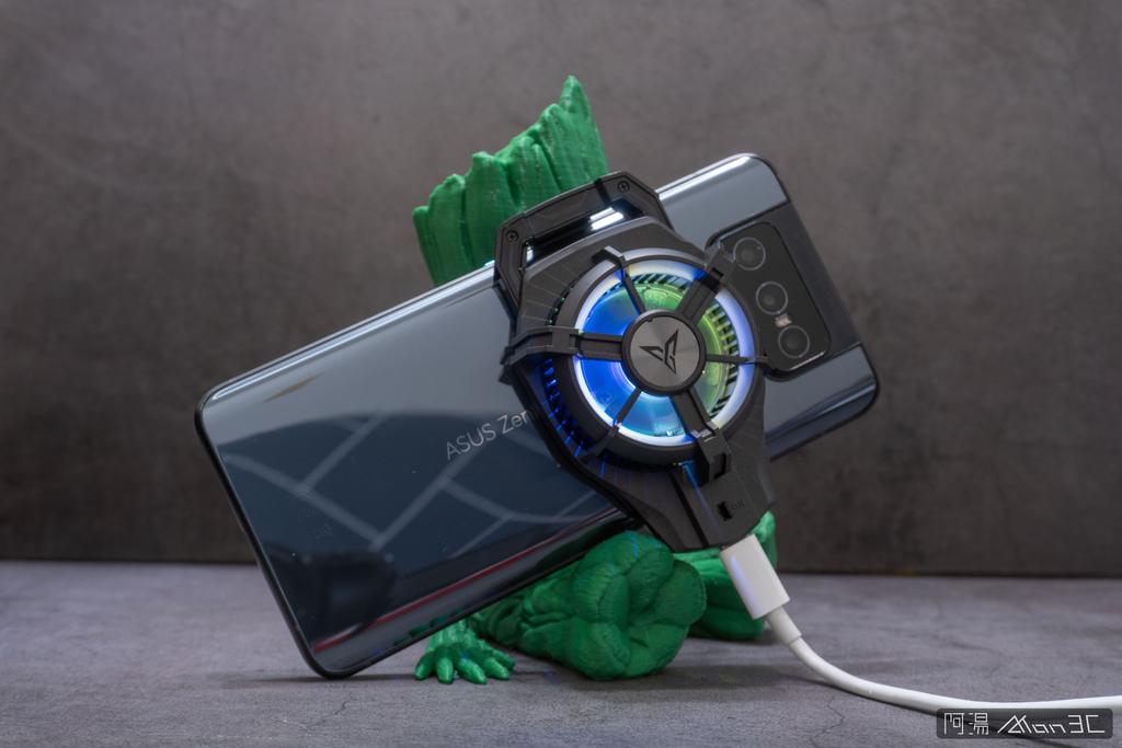 「開箱」信星飛智蜂翼 2 Pro 手機製冷散熱器 - 玩手遊不熱當! - 16